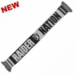 Oakland Raiders Raider Nation Scarf