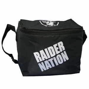 Oakland Raiders Raider Nation Six Pack Cooler - Click to enlarge