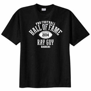 Oakland Raiders Ray Guy Elected Tee - Click to enlarge