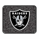 Oakland Raiders Rear Car Mat