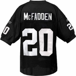 Oakland Raiders Reebok Darren McFadden Authentic Black Jersey