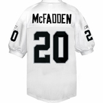 Oakland Raiders Reebok Darren McFadden Authentic White Jersey