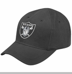 Oakland Raiders Reebok Infant Basic Logo Cap Black