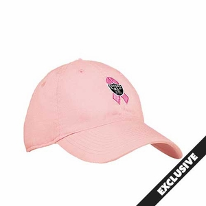 Oakland Raiders Reebok Pink Ribbon Logo Cap - Click to enlarge