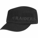 Oakland Raiders Reebok Womens Military Hat