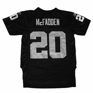 Oakland Raiders Reebok Youth McFadden Black Replica - Click to enlarge