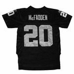 Oakland Raiders Reebok Youth McFadden Black Replica