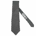 Oakland Raiders Repeat Logo Silk Tie
