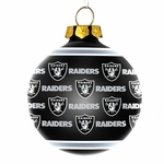 Oakland Raiders Repeat Ornament