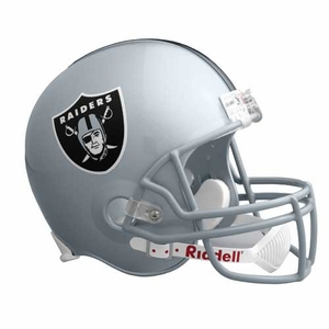 Oakland Raiders Replica Helmet - Click to enlarge