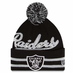 Oakland Raiders New Era Retro Mark Knit