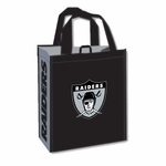 Oakland Raiders Reusable Retro Tote Bag