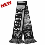 Oakland Raiders Reversible Ugly Scarf