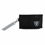 Oakland Raiders Ribbon Organizer Wallet