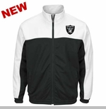 Oakland Raiders Roll Out Track Jacket