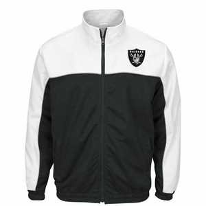 Oakland Raiders Roll Out Track Jacket - Click to enlarge