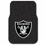 Oakland Raiders Rubber Floor Mats