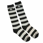 Oakland Raiders Rugby Stripe Sock 9-11