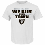 Oakland Raiders Run This Town Tee