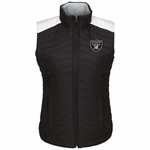 Oakland Raiders Rundown Puffer Vest