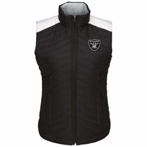 Oakland Raiders Rundown Puffer Vest - Click to enlarge
