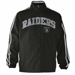 Oakland Raiders Rundown Track Jacket - Click to enlarge