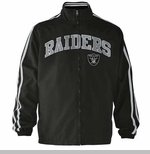 Oakland Raiders Rundown Track Jacket