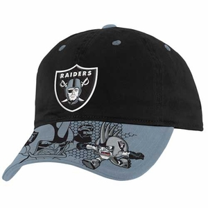 Oakland Raiders Rusher Defense Engage Cap - Click to enlarge