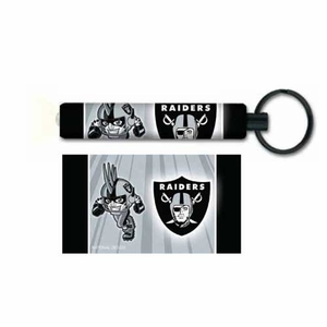 Oakland Raiders Rusher Flashlight Keychain - Click to enlarge