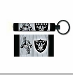 Oakland Raiders Rusher Flashlight Keychain