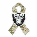 Oakland Raiders Salute To Service Lapel Pin