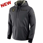 Oakland Raiders Salute To Service Youth Fleece Pullover