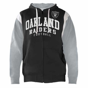 Oakland Raiders Scrimmage Hood - Click to enlarge
