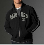 Oakland Raiders Scrimmage Track Jacket