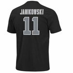 Oakland Raiders Sebastian Janikowski Aggressive Speed Short Sleeve Tee