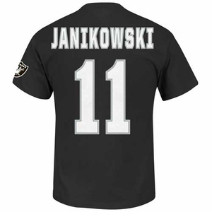 Oakland Raiders Sebastian Janikowski Eligible Receiver II Tee - Click to enlarge