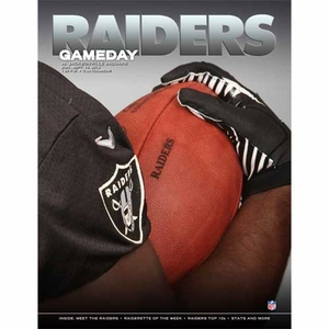 Oakland Raiders September 15th Game Day Program vs. Jacksonville Jaguars - Click to enlarge
