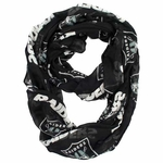 Raiders Sheer Infinity Scarf