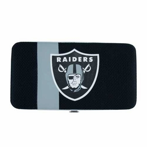 Oakland Raiders Shell Mesh Wallet - Click to enlarge
