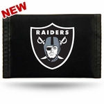 Oakland Raiders Shield Logo Nylon Wallet