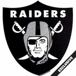 Oakland Raiders Shield Shaped Pennant