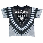Oakland Raiders Shield V-Dye Tee