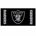Oakland Raiders Shimmer Beach Towel