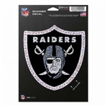 Oakland Raiders Shimmer Decal