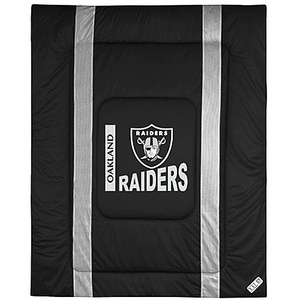 Oakland Raiders Sideline Full/Queen Comforter - Click to enlarge
