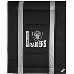 Oakland Raiders Sideline Full/Queen Comforter