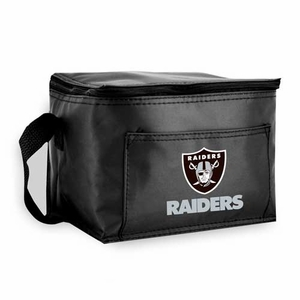 Oakland Raiders Six Pack Lunch Tote - Click to enlarge