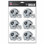 Oakland Raiders Six Pack Magnets