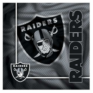 Oakland Raiders Six Piece Euro Coaster Set - Click to enlarge