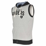 Oakland Raiders Sleeveless Hood